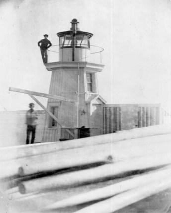 Portland Breakwater Light ca. 1859 (USCG photo)