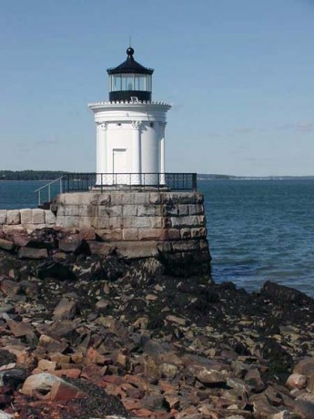 Portland Breakwater Light. Copyright Candace Clifford