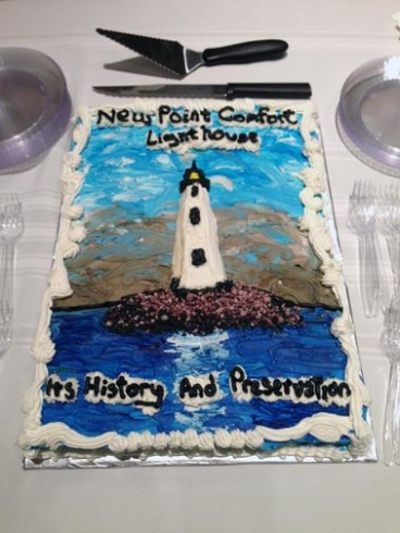 New Point Comfort Lighthouse cake