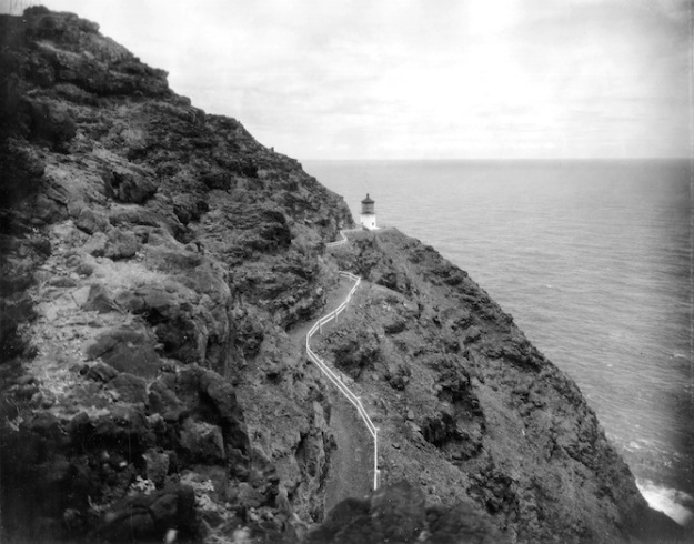 Makapuu Point Lighthouse. National Archives photo